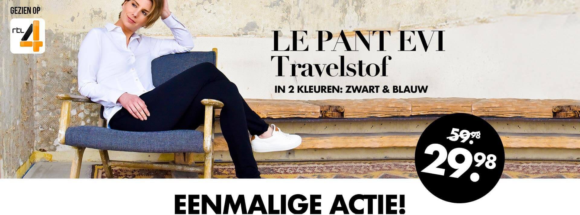 Actie: Le Pant Evi €29,98