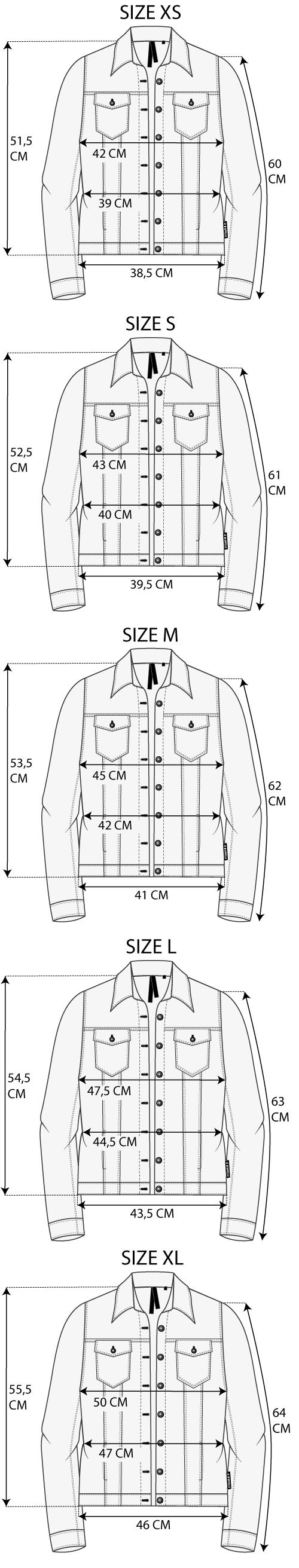 Maattabel Denim Jacket