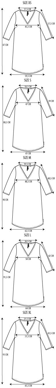 Maattabel comfy dress