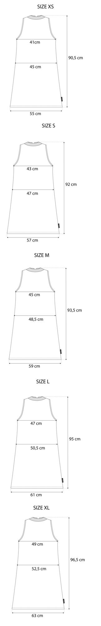 Maattabel Tie Dress