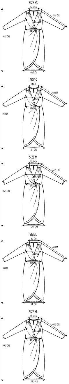 Maattabel la robe