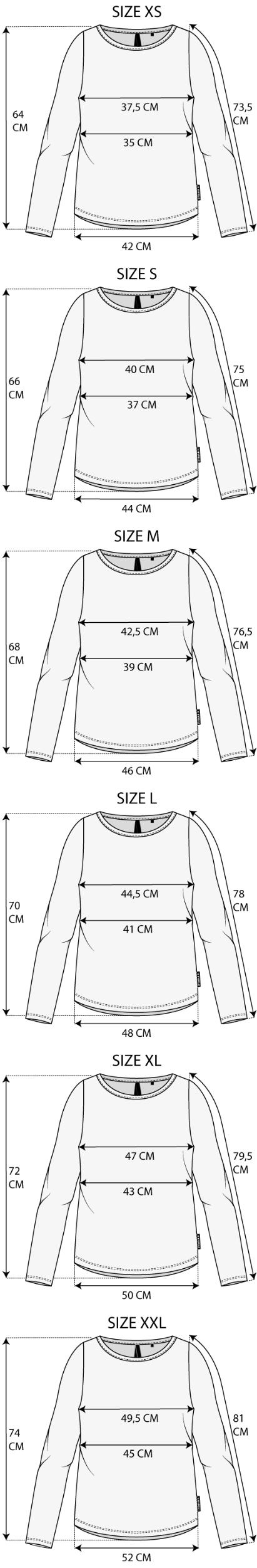 Maattabel Shirt