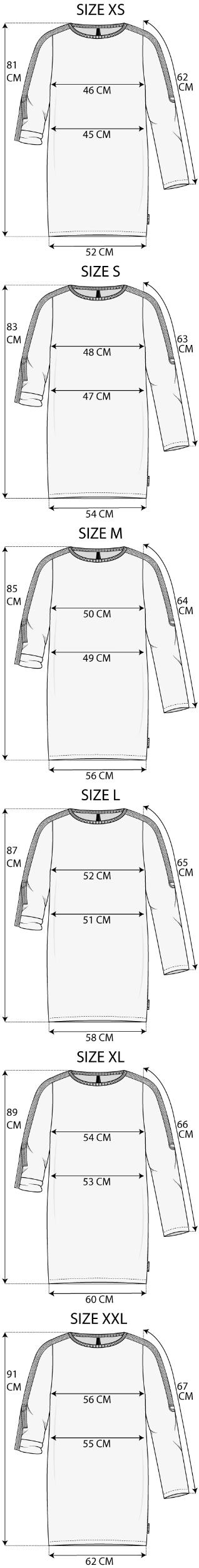 Maattabel Tunic Sweater